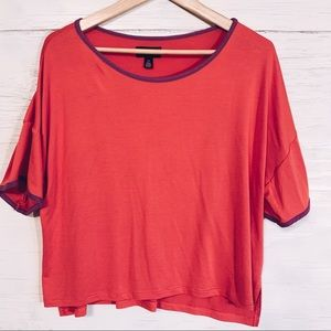 5/15$ Room Service Boxy Fit Tee NWT